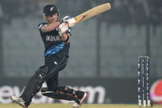 Brendon McCullum helped himself to a 45-ball 65 as New Zealand chased down the 152-run target with six wickets and six balls to spare. - ICC T20 News
