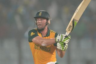 AB de Villiers' unbeaten knock of 69 off 28 balls was an innings of pure genius as South Africa beat England by three runs to seal its spot in the semi-finals. - ICC T20 News