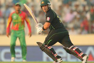 Aaron Finch of Australia scores a half-century. - ICC T20 News