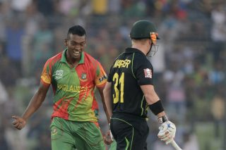 The incident related to the bowler's actions after he dismissed Australia opener David Warner in the 12th over - ICC T20 News