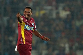 West Indies bowler Samuel Badree takes top spot in ICC T20I rankings. - ICC T20 News