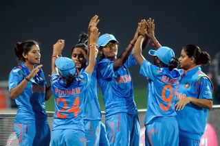 India Women take on Pakistan Women at the WT20 2016 Qualification Play-Off. - ICC T20 News