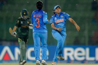 Soniya Dabir picked up 3 wickets for 14 runs. - ICC T20 News