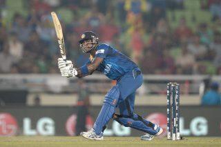 Angelo Mathews smashed 40 off 23 balls. - ICC T20 News