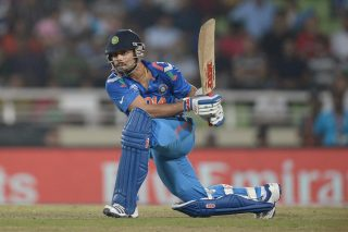 Virat Kohli scored an unbeaten 44-ball 72 to propel India's chase and seal its spot in the final. - ICC T20 News