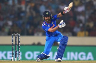 Kohli was named player of the tournament for ending as the highest run-getter of the World T20 with 319 runs at an average of 106.33. - ICC T20 News