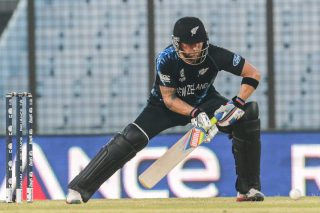 Brendon McCullum of New Zealand scores 40 off 35 balls.  - ICC T20 News