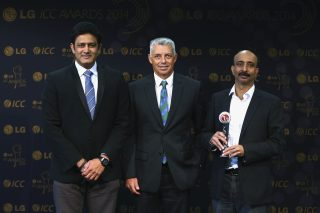 Bhuvneshwar Kumar wins LG People's Choice Award - ICC Awards