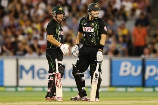 Aaron Finch and Shane Watson play crucial knocks to guide Australia to victory.  - ICC T20 News