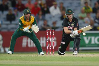Cameron White of Australia seals victory for Australia. - ICC T20 News