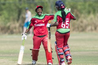 Mugeri takes Zimbabwe to last-over win against Scotland