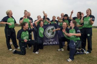 Ireland Women win title after last-ball finish