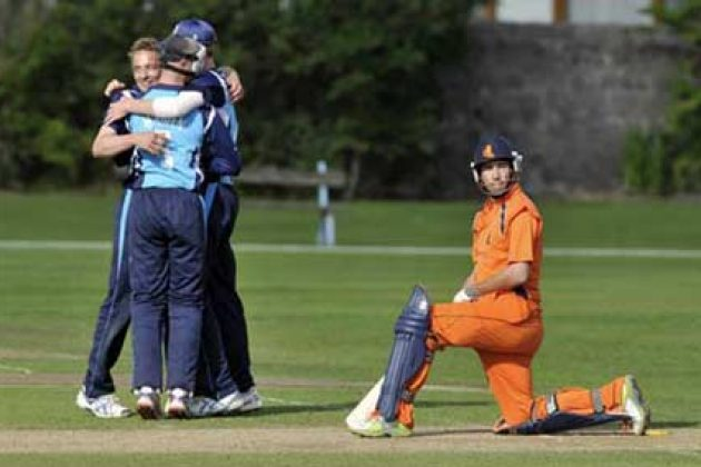 Scotland registers 15-run win in first ODI - Cricket News
