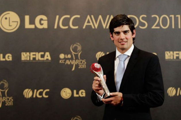 Alastair Cook named Test Cricketer of the Year 2011 - Cricket News