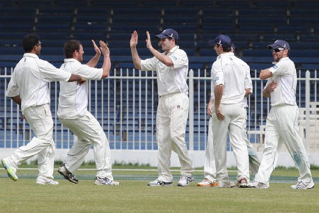Scotland earns slender lead on Day 1 - Cricket News