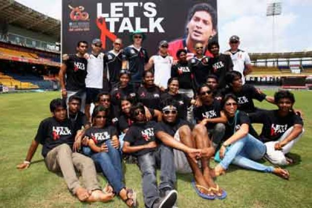 Cricket heroes go out to bat for HIV awareness at ICC WT20 - Cricket News