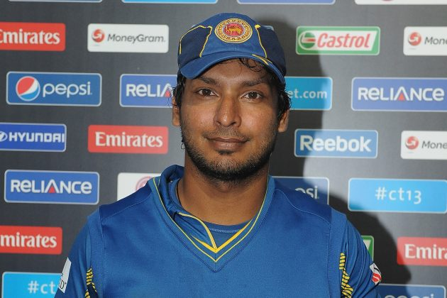 Kumara Sangakkara at the Press conference  after yesterdays match