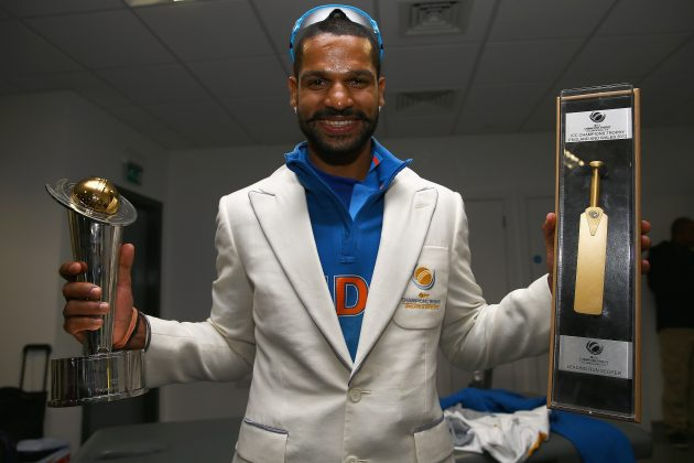 India's Dhawan named player of the tournament - Cricket News