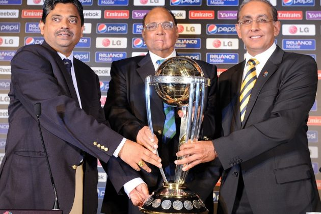 ICC Cricket World Cup 2011 trophy in India  - Cricket News