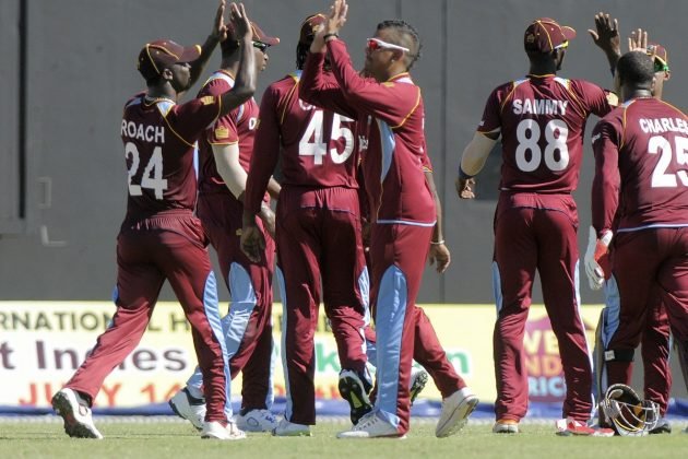 West Indies wins low-scoring ODI by 37 runs