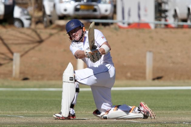 Namibia on top after day two