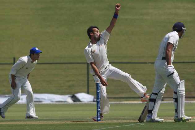 Dawlatzai bowls Afghanistan close to a win - Cricket News