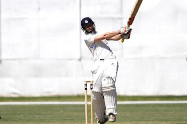 Flannigan century gives Scotland the edge