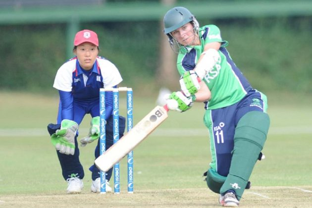 Shillington scores century as Ireland win opening match