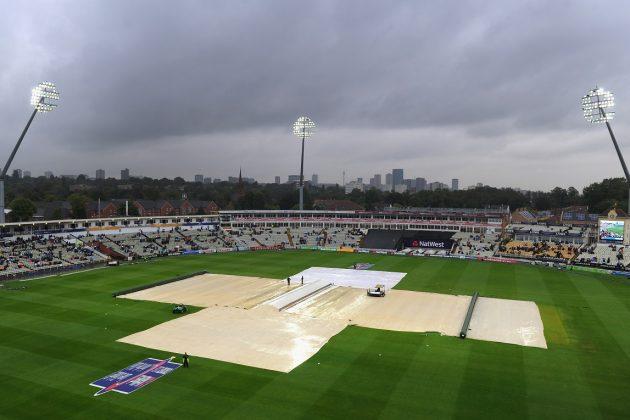 Match abandoned after heavy rain - Cricket News