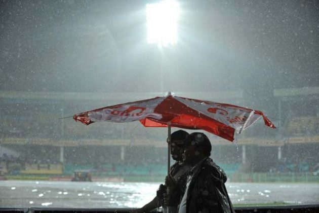 Rain scuppers India and New Zealand