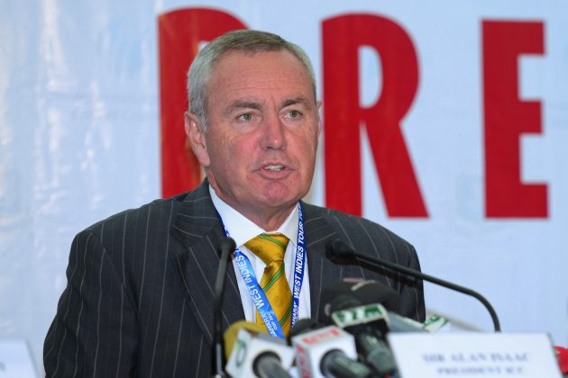 ICC President Alan Isaac visits Indianapolis - Cricket News