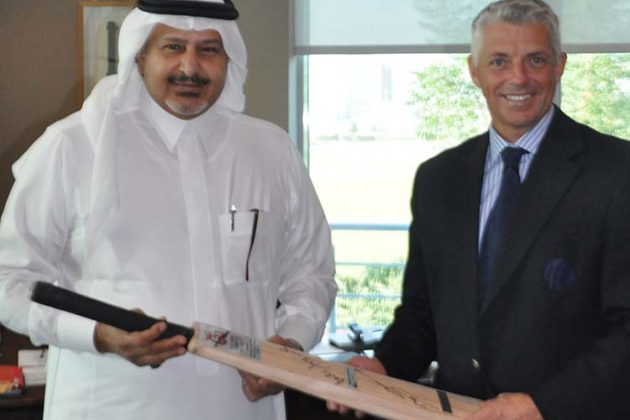 Saudi Arabia Prince visits ICC HQ - Cricket News