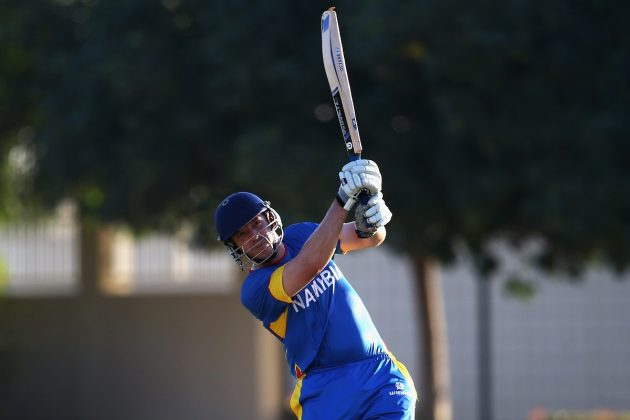 Burger leads Namibia to maiden win