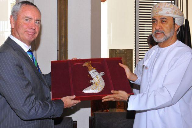 ICC President visits Oman - Cricket News