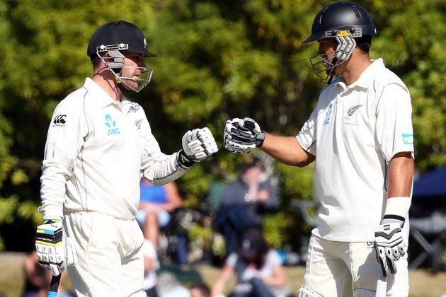 McCullum, Taylor propel New Zealand - Cricket News