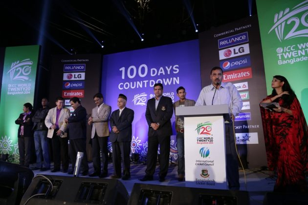 100-day countdown to the ICC World Twenty20 Bangladesh 2014 begins - Cricket News