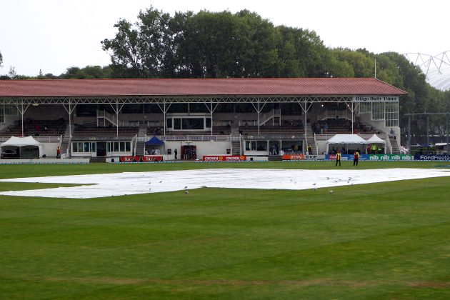 New Zealand stymied by rain in first Test - Cricket News