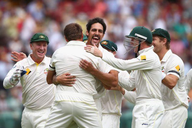 Johnson leads Australia's day of dominance - Cricket News