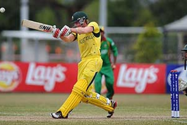 Australia survives scare against Bangladesh - Cricket News