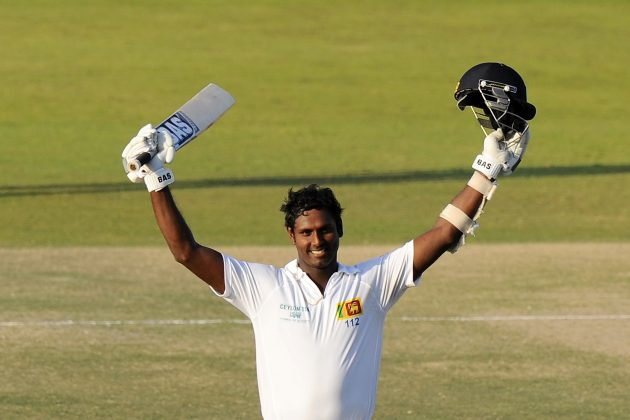 Mathews' ton puts Sri Lanka on top  - Cricket News