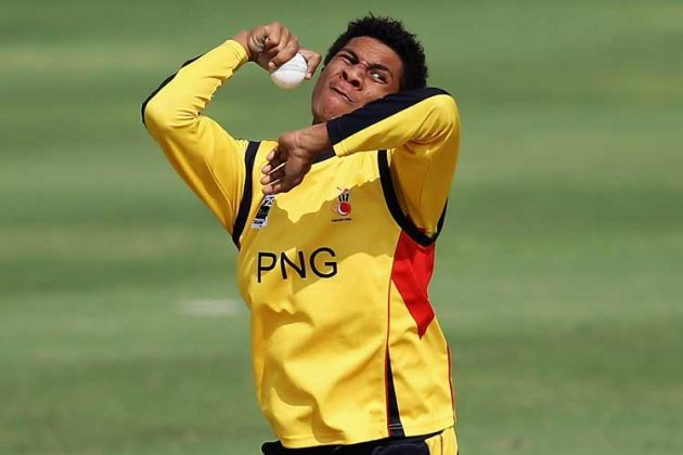 Charles Amini takes six wickets to lead PNG to second big win - Cricket News