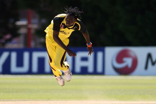 Uganda's Patrick Ochan reprimanded for breaching ICC Code of Conduct - Cricket News