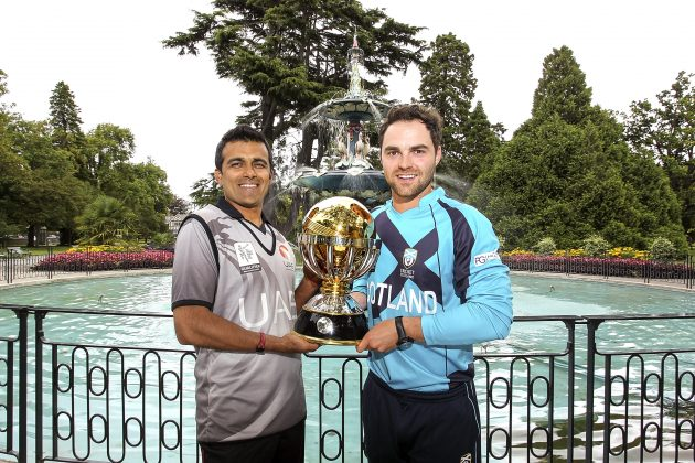 Scotland and UAE battle lock horns in final of ICC CWCQ 2014 - Cricket News
