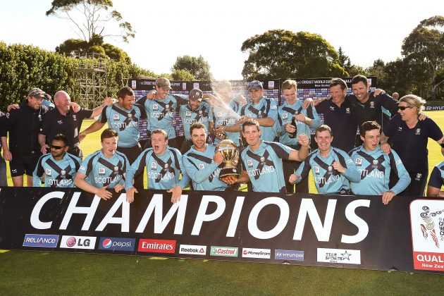 Scotland lifts trophy at ICC CWCQ NZ 2014 - Cricket News
