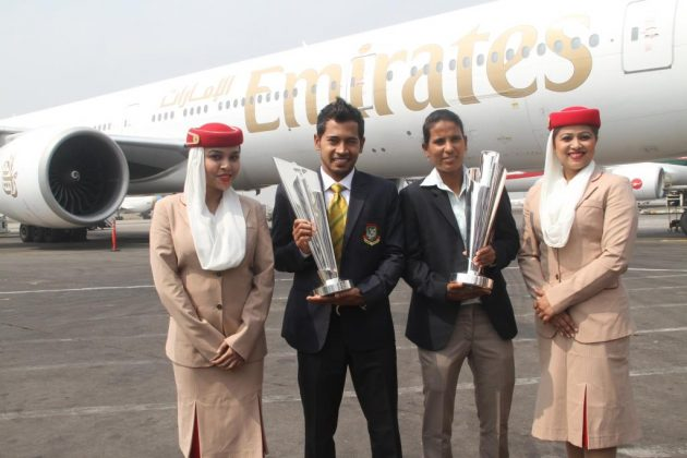 ICC World Twenty20 trophies arrive in Bangladesh, to tour all host cities - Cricket News