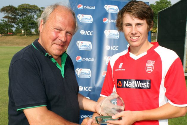Jersey dedicates win to former Jersey Cricket president - Cricket News