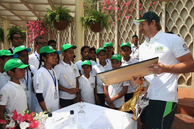 Dhaka kids get memorable visit from Watson - Cricket News