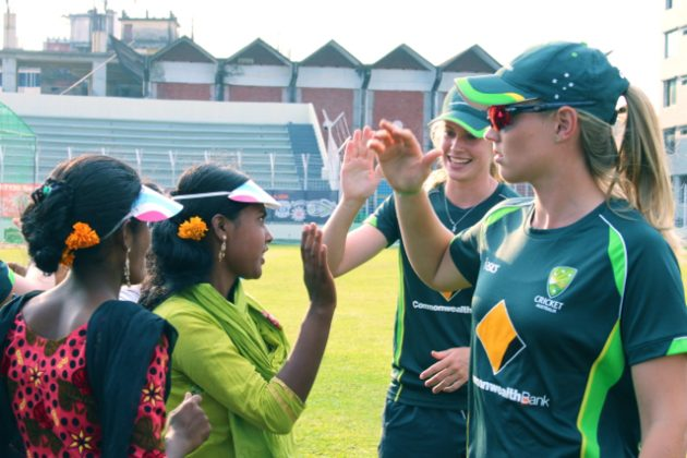 Australia Women take part in WASH United event - Cricket News