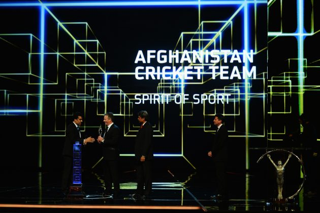 ICC congratulates Afghanistan on prestigious international sports award - Cricket News