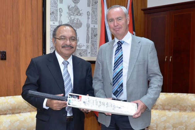ICC President and Chief Executive meet with Papua New Guinea Prime Minister - Cricket News